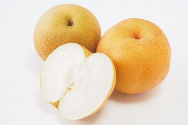 犬が好きな夏の果物である梨