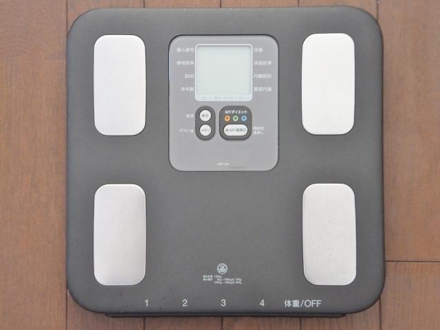 BMIを知るための体重計