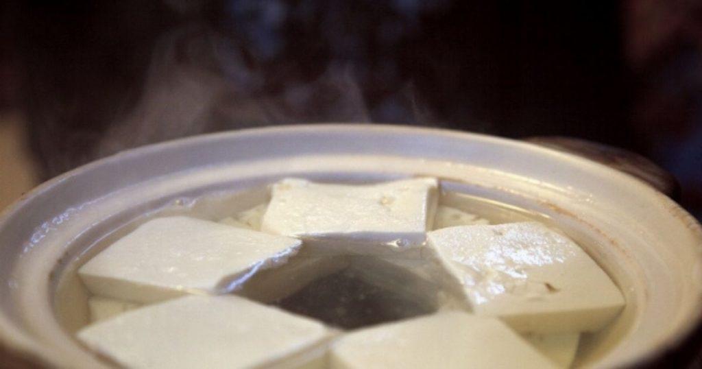 温度が高いため犬は食べられない豆腐