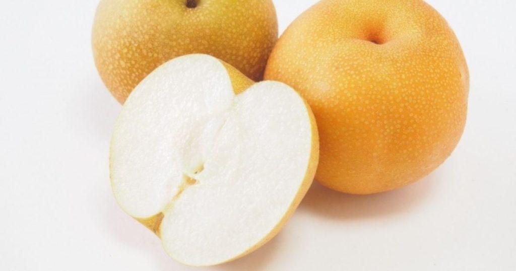 犬が食べられる夏の果物である梨